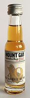 Advent Calendar Tasting Sample Rum Rhum Ron Mount Gay XO Reserve Miniature