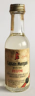 Rum Rhum Ron Captain Morgan White Miniature