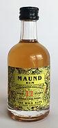 Rum Rhum Ron Maund 12yo Single Cask Miniature