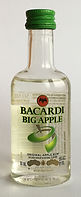 Rum Rhum Ron Bacardi Big Apple PET Miniature