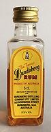 Rhum Ron Bundaberg Rum Miniature