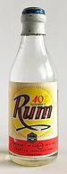 Tuzemský rum Frucona Miniature