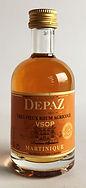 Rum Ron Rhum Depaz VSOP Miniature