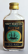 Rum Rhum Ron  Demerara Navy Neaters Miniature