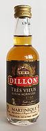 Rum Rhum Ron Dillon Tres Vieux VSOP Miniature