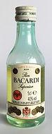 Rum Rhum Ron Bacardi Carta Blanca Miniature