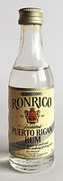 Rum Rhum Ron Ronrico White Label Miniature