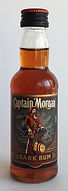 Rum Rhum Ron Captain Morgan Dark Rum Miniature
