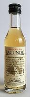 Rum Rhum Ron Bacardi Facundo Miniature