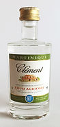 Rum Rhum Clément Blanc Miniature