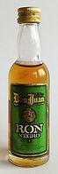 Rum Rhum Ron Don Juan Ron Negro Miniature