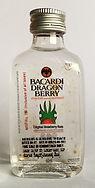 Rum Rhum Ron Bacardi Dragon Berry PET Miniature