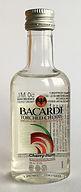 Rum Rhum Ron Bacardi Torched Cherry PET Miniature