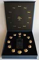 Rum Rhum Ron Blue Mauritius Gold Box Miniature