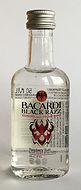 Rum Rhum Ron Bacardi Black Razz PET Miniature