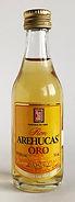 Rum Rhum Ron Arehucas Oro Miniature