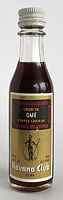 Rum Rhum Ron Havana Club Cafe Coffee Liqueur Miniature