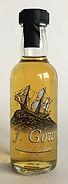 Rum Rhum Ron J. Gow Spiced Rum Miniature