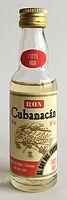 Rhum Rum Ron Cubanacan Miniature