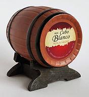 Rum Rhum Ron Cabo Blanco Merlin Negro Miniature