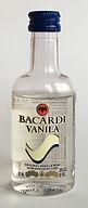 Rum Rhum Ron Bacardi Vanila PET Miniature