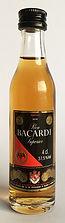 Rum Rhum Ron Bacardi Premium Black Miniatureum_Black_03.JPG