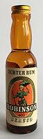 Rhum Ron Robinson Beruco Rum Miniature
