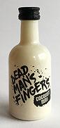 Rhum Ron Rum Dead Man's Fingers Coconut Miniature