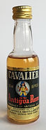 Rum Rhum Ron Cavalier Antigua PET Miniature