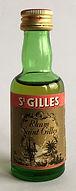 Rum Ron Rhum Saint Gilles Miniature