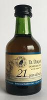 Rum Rhum Demerara El Dorado 21yo Miniature
