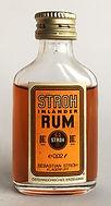 Ron Rhum Inlander Rum Stroh Miniature