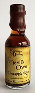 Rum Rhum Ron Devil's Own Pineapple Miniature