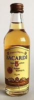 Rum Rhum Ron Bacardi Anejo Superior 5yo Miniature