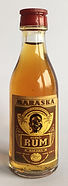 Rhum Ron Maraska Domači Rum Miniature