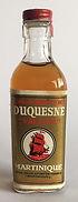 Rum Ron Rhum Duquesne Valdor Miniature
