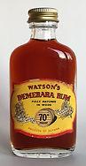 Rum Rhum Ron Watson's Demerara Rum Miniature