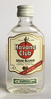 Rum Rhum Ron Havana Club Blanco Miniature