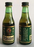 Rum Rhum Ron Hansen Präsident Miniature