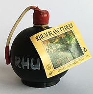 Rum Ron Clouet Rhum Blanc Miniature