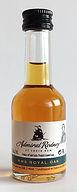 Rum Rhum Ron Admiral Rodney HMS Royal Oak Miniature