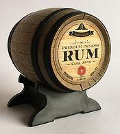 Rum Ron Rhum Admiral's Premium Panama Rum Cask Aged Miniature