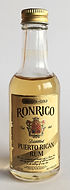 Rum Rhum Ron Ronrico Smooth Gold Miniature
