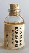 Tasting Sample Guyana & Barbados Blended Rum Miniature