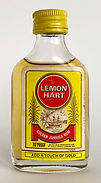 Rum Rhum Ron Lemon Hart Golden Jamaica Miniature