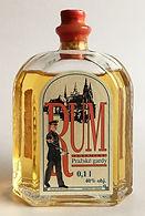 Tuzemský Rum Pražské Gardy Miniatura 0,01l