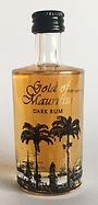 Rhum Ron Gold of Mauritius Dark Rum Miniature