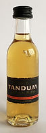 Rum Rhum Ron Tanduay Gold Miniature
