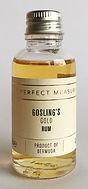 The Perfect Measure Tasting Sample Goslings Gold Miniature