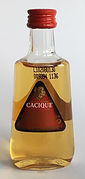 Rhum Ron Rum Cacique Miniature